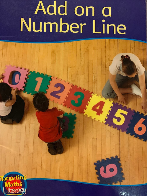 Add on a Number Line Level 4 (Targeting Maths Literacy)