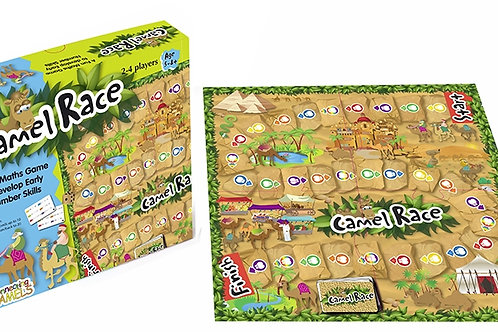 Camel Race Maths Game Ages 5-8