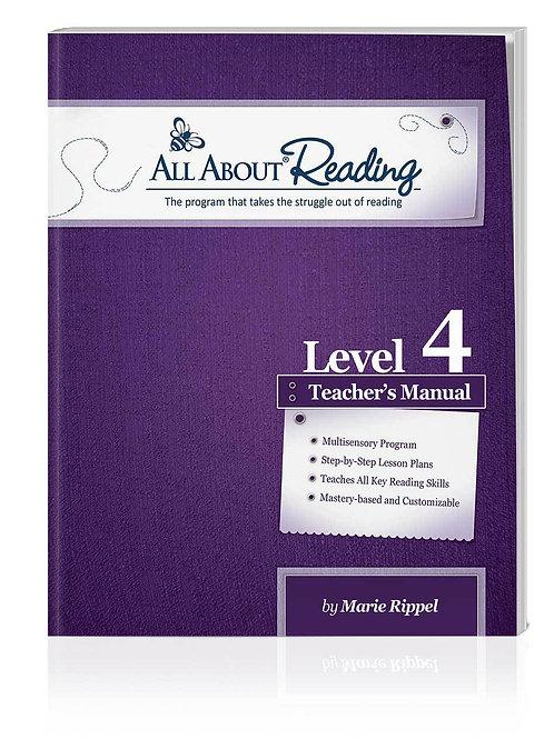 AAR: Level 4 Teacher Manual Colour Version