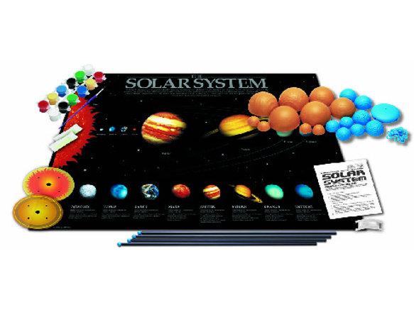 4M 3D Glow-In-Dark Solar System Model Making Kit