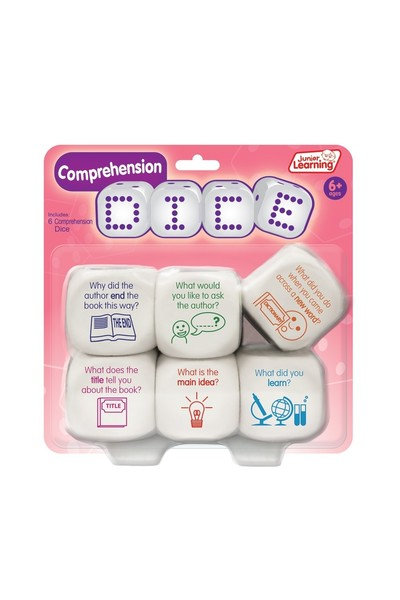 Junior Learning Dice Comprehension 6p Large