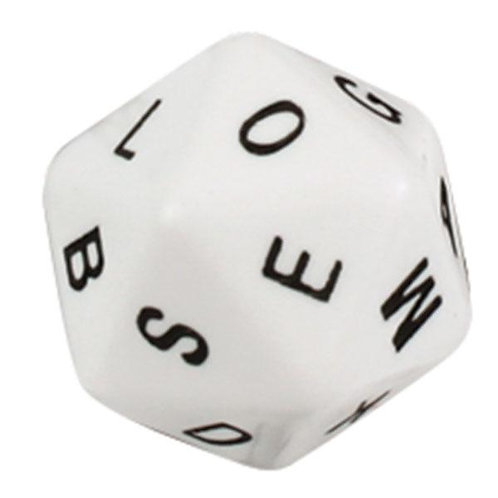 Alphabet Dice 20 Face Uppercase 24mm $2.90