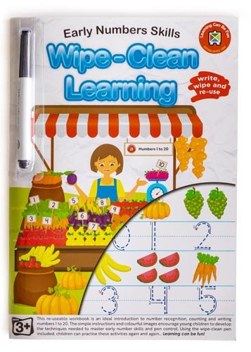 Wipe Clean Early Number Skill Workbook