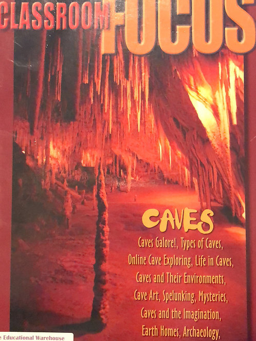 Scholastic Focus: Caves Plus Wall Poster $3.00