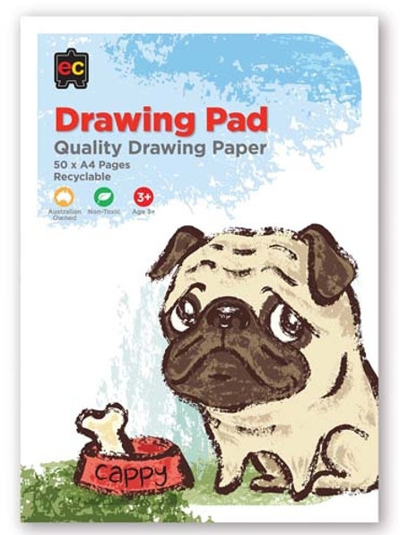 Drawing, Sketch and Painting Pad  A4