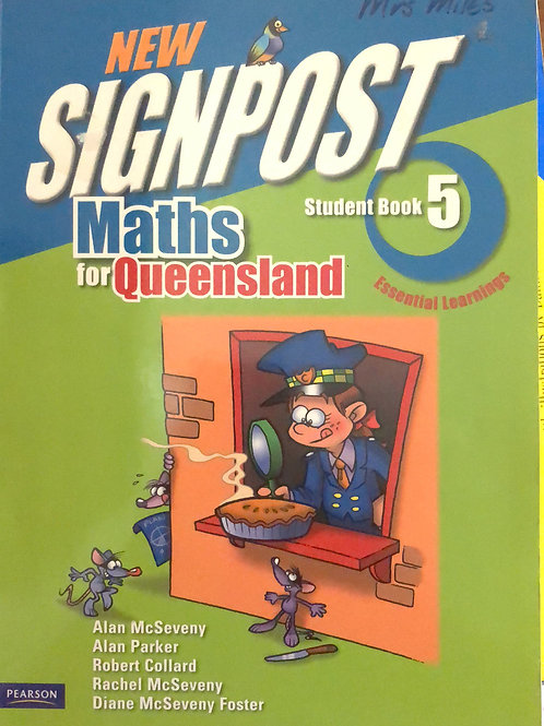 Signpost Maths In Qld Student Book 5
