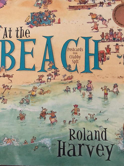 At The Beach By Roland Harvey Softcover