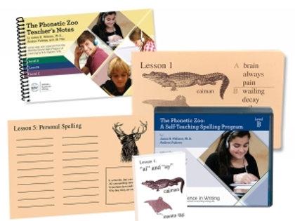 Phonetic Zoo Spelling Level B (Starter Set)