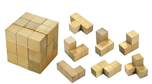 Soma Cube 7 pieces $12.95