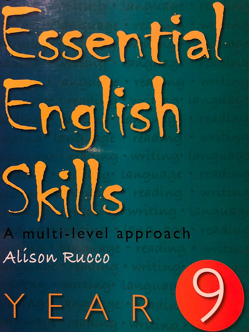 Cambridge Essential English Skills Student Book year 9