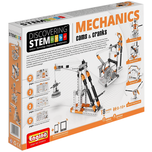 STEM Mechanics: Cams & Cranks