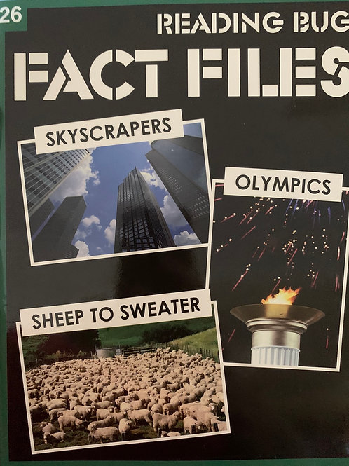 Fact Files: Skyscrapers, Sheep to Sweater & Olympics Level 26
