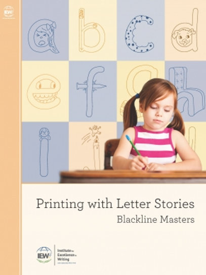 Printing with Letter Stories (Blackline Masters)