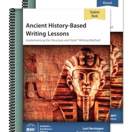 Ancient History-Based Writing Lessons (Teacher/Student Combo)