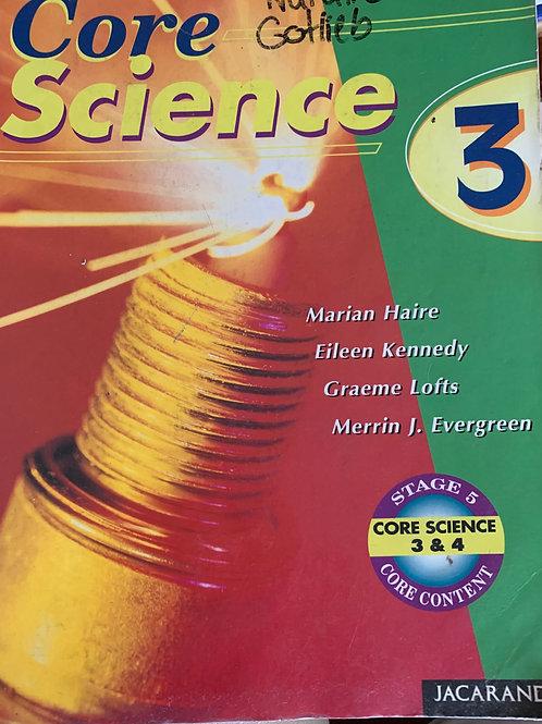 Core Science Book 3