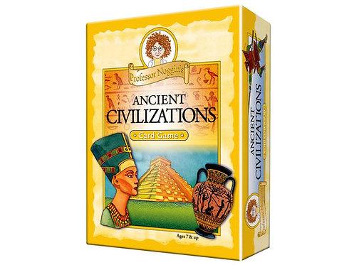 Prof. Noggin's Ancient Civilizations Card Game