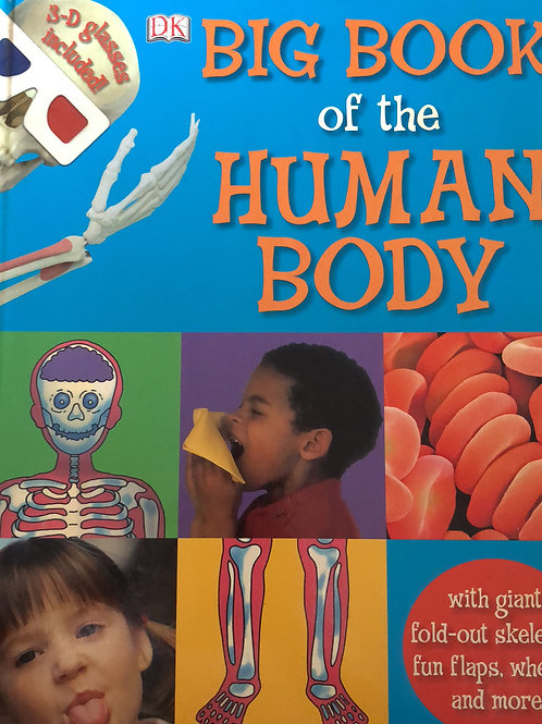 DK Big Book of the Human Body (flips, wheels, and fold out Skeleton)