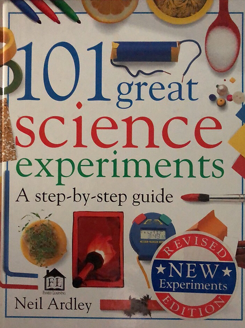 101 Great Science Experiments A Step By Step Guide