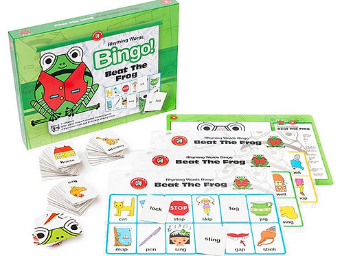 Beat The Frog (Rhyming Words) Bingo