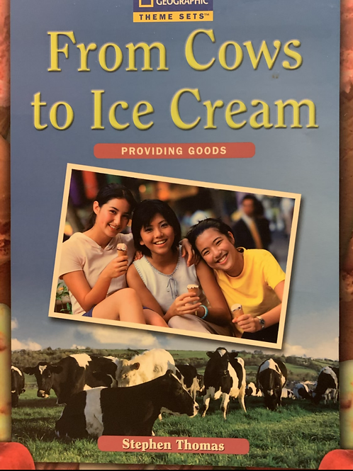 From Cows to Ice Cream Level 30+ (Macmillian) A4 Size