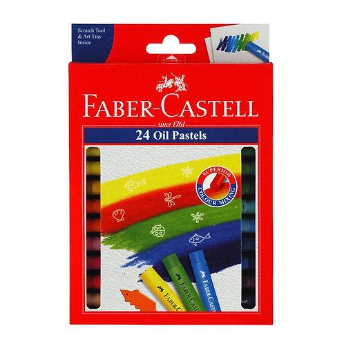 Faber-Castell Oil Pastels Pk 24