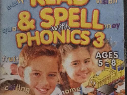 Eureka Read & Spell Phonics Ages 5-8