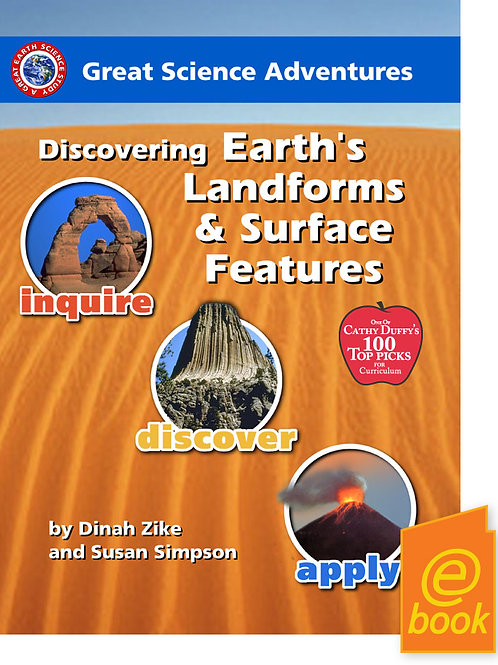 Discovering Earth's Landforms & Surface E-book