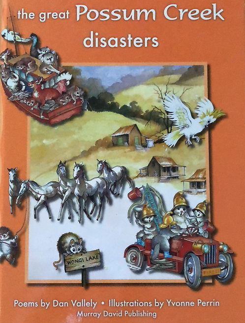 The Great Possum Creek Disasters - 4 Books In One