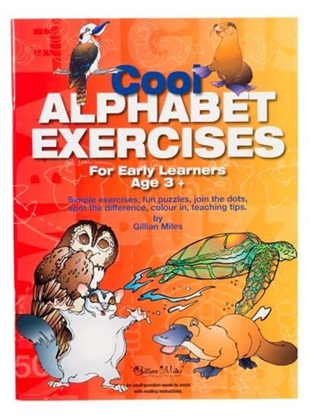Cool Alphabet Exercises For Early Learners Ages 3+