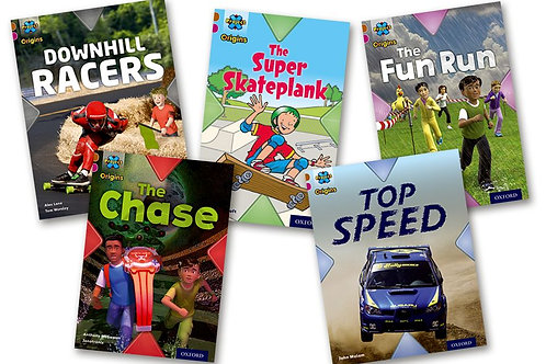 Fast & Furious Level 10 Pack of 5 (Project x Oxford) plus Guided Reading Tests