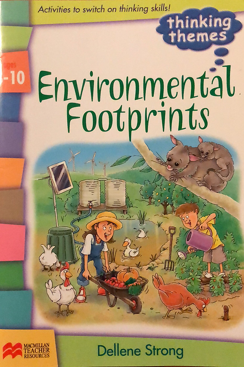 Environmental Footprints 8-10 Year's BLM's