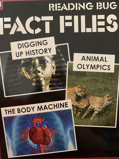 Fact Files: Digging Up History, The Body Machine & Animal Olympics Level 28
