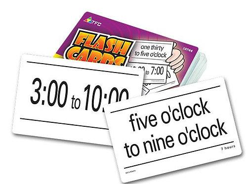 Elapsed Time Flashcards $16.95