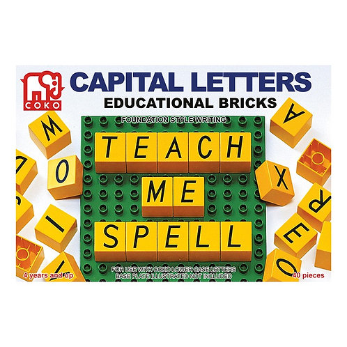 COKO Capital Letters 40 Pieces