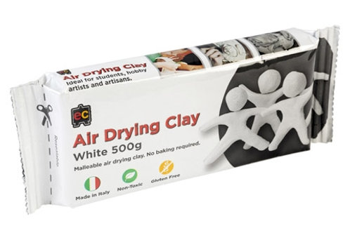 Air Drying Clay 1kg White or Terracotta