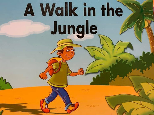 A Walk in the Jungle Level 6/7/8 (Galaxy)