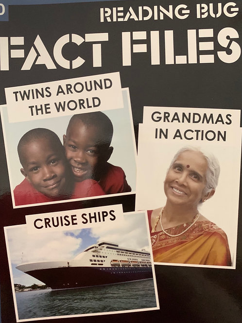 Fact Files - Twins Around The World, Cruise Ships & Grandmas Actions Level 30