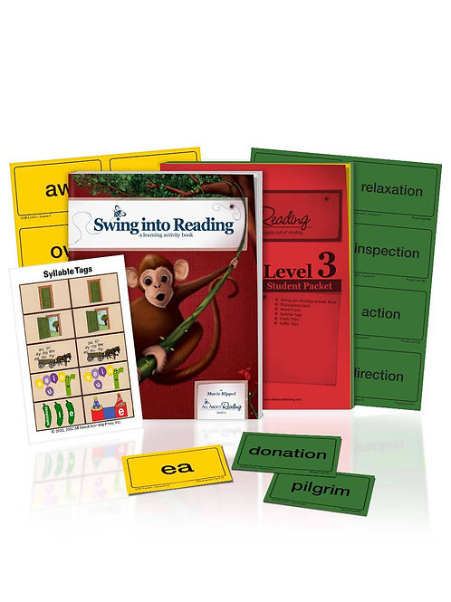 AAR: Level 3 Student Packet & Activity Book Colour Version