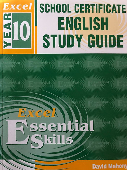Excel School Certificate English Study Guide Year 10