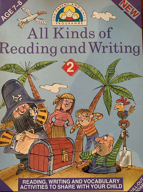 All Kinds of Reading & Writing Book 2 Ages 7-8