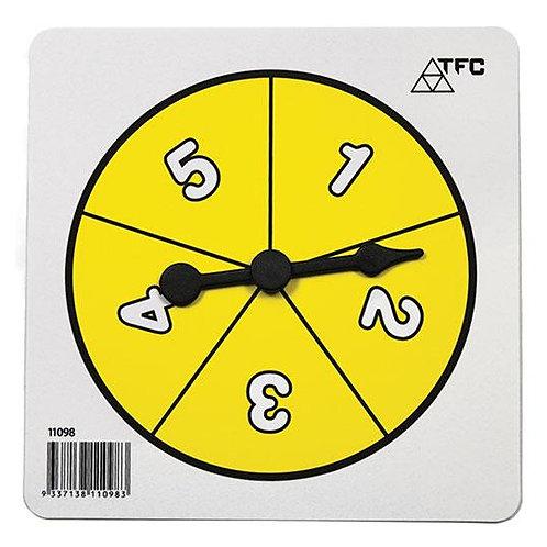 Spinner Number 1-5 $2.00