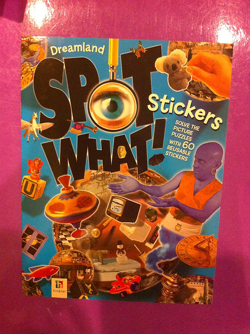 *** BRAND NEW *** Spot What Stickers Book