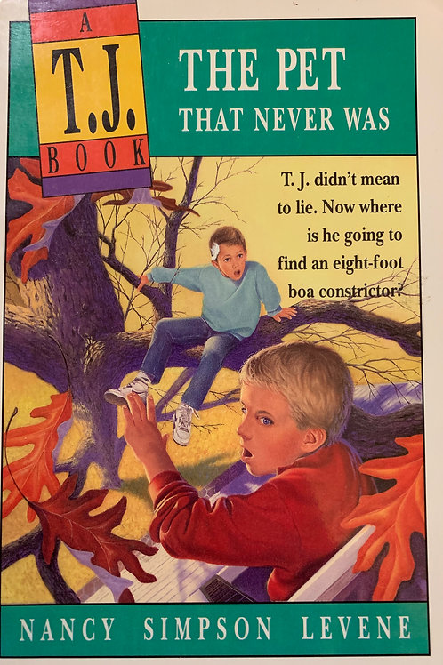 ATJ Book: The Pet That Never Was by Nancy Simpson Levene