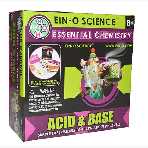 Ein-O Essential Chemistry Acid & Base Kits $18.95