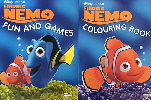 Finding Nemo Fun and Games & Colouring Books