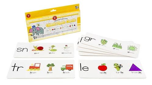 Giant Blending Consonant  Flashcards