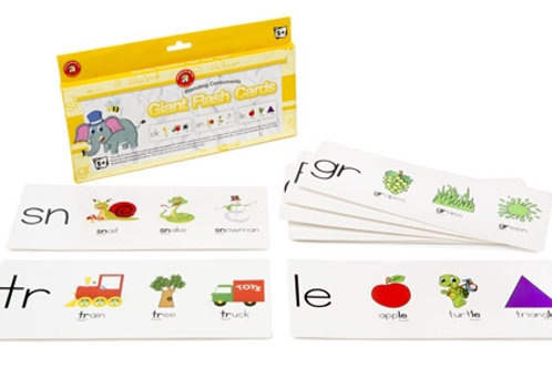 Giant Blending Consonant  Flashcards