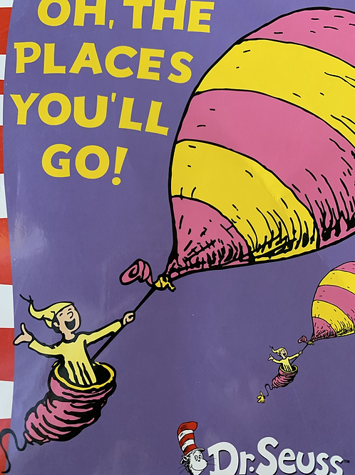 Dr Seuss Oh, The Places You'll Go!  (Yellow Fluent Readers)