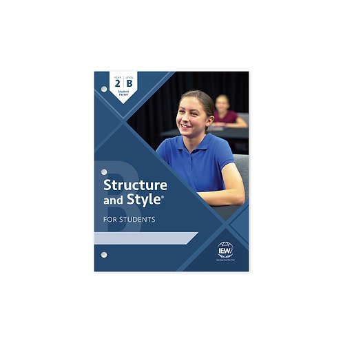 Structure and Style for Students: Year 2 Level B [Student Packet only]