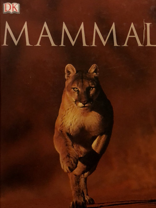 DK Mammal Thick Hardcover